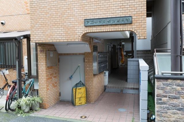 アコードハイツ高円寺のエントランス
