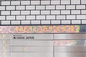 キャピタルプラザ大久保の看板