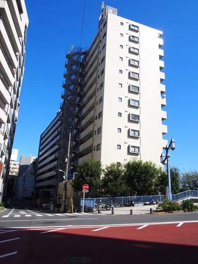 日本橋グリーンハイツ(中央区)の外観