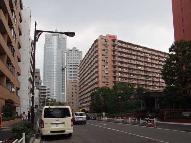 築地永谷コーポラスの外観