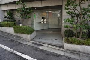 コスモ高輪シティフォルムのエントランス