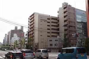 ライオンズマンション東神田の外観
