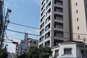 ジュイール東京八丁堀の外観