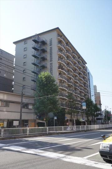 藤和横浜西口ハイタウンの外観
