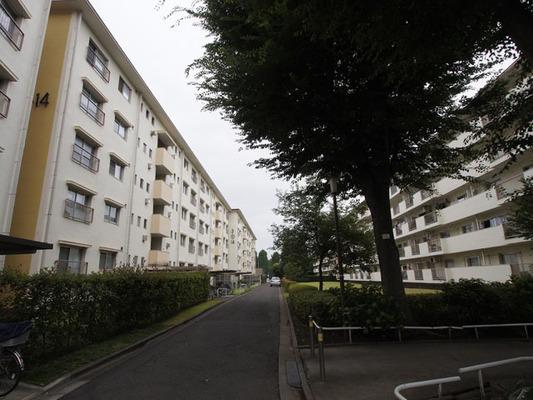 高島平団地住宅(第1〜第3)の外観