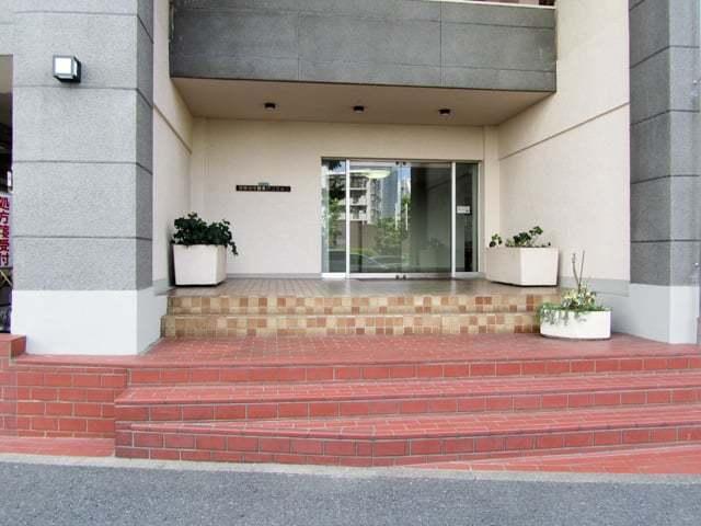 日生住宅目黒マンションのエントランス