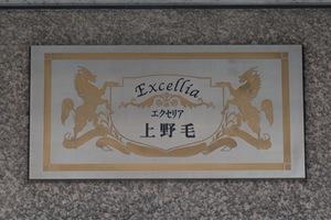 エクセリア上野毛の看板