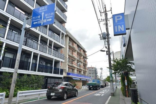 リバーサイドマンション江戸川の外観