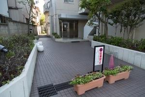 東急ドエルアルス石神井公園のエントランス