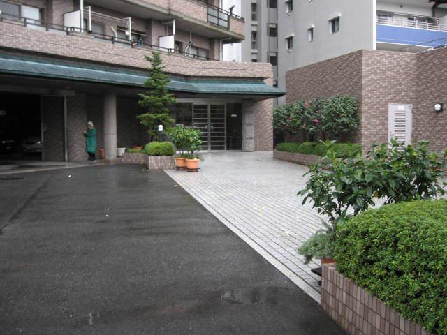 カーサ浅草桜橋のエントランス