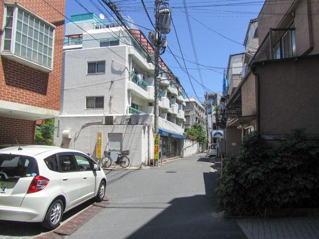 グリーンキャピタル神楽坂の外観