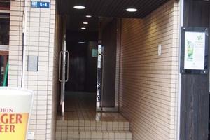 パークハイツ日本橋蛎殻町のエントランス