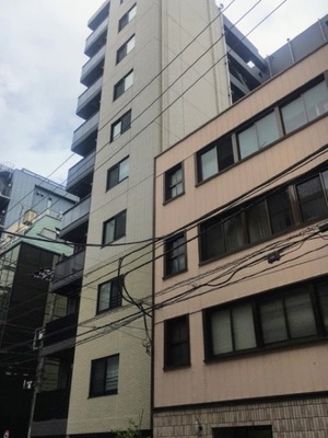 オープンレジデンシア銀座二丁目の外観