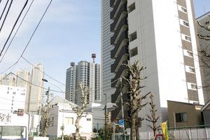 プレールドゥーク渋谷初台の外観