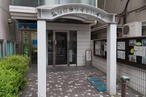 江古田ホワイトハイツのエントランス