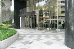 レクセル高田馬場のエントランス