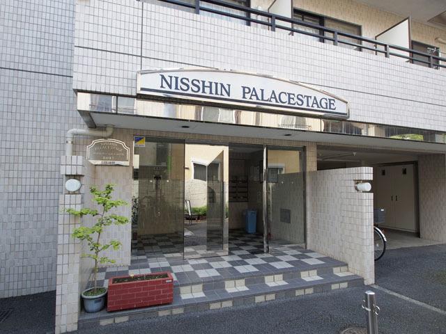 日神パレステージ志村坂下のエントランス
