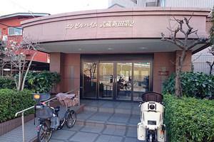 エンゼルハイム武蔵新田第2のエントランス