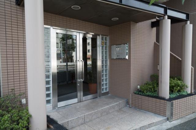 マイキャッスル瀬田のエントランス