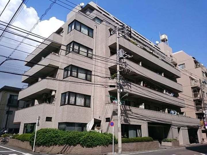 パストラルハイム西蒲田の外観