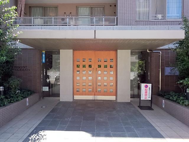 クレッセント新蒲田のエントランス