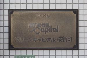 グリーンキャピタル桜新町の看板