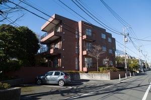 上野毛ガーデンホームズの外観