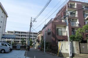 コーポ橘(新宿区)の外観