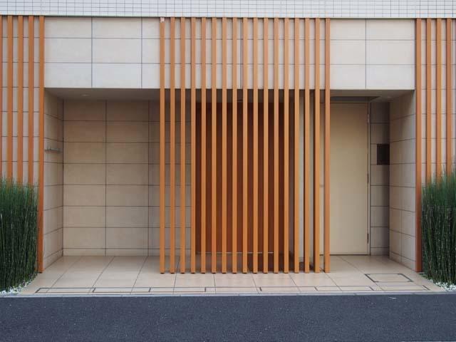 アスコットパーク東京八丁堀のエントランス