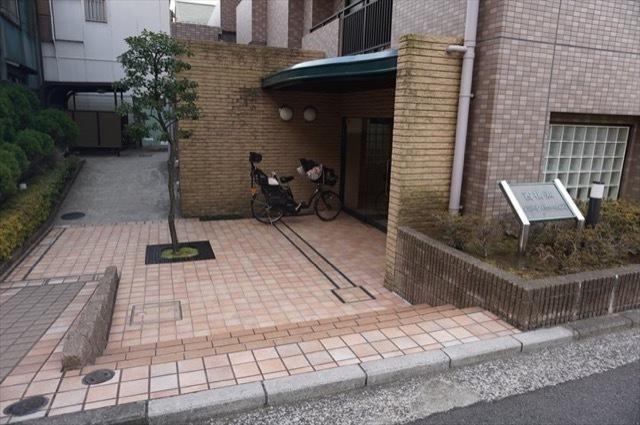 西横浜パークホームズのエントランス