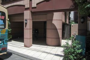 グランシティ早稲田のエントランス