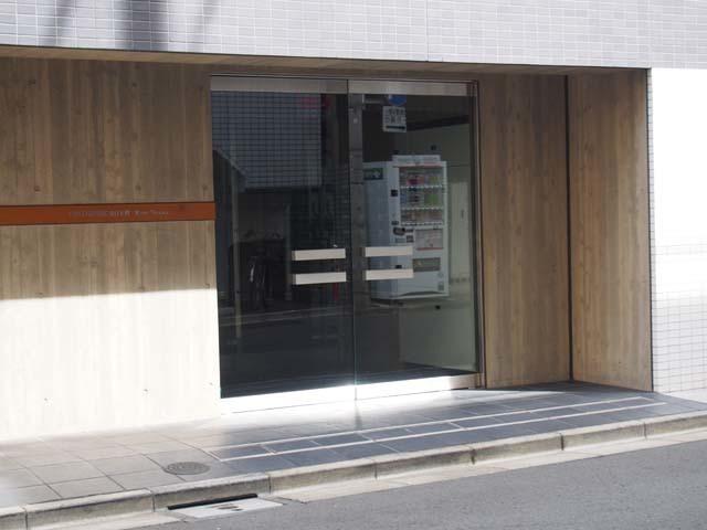 グリーンパーク東日本橋リバーテラスのエントランス