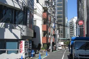 ホワイトヒル渋谷の外観