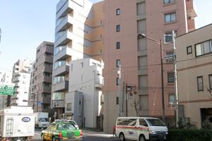 クレアシオン渋谷の外観