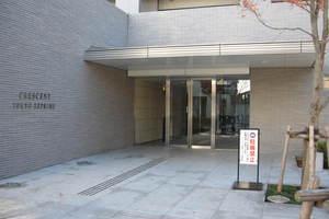 クレッセント東京リプライムのエントランス