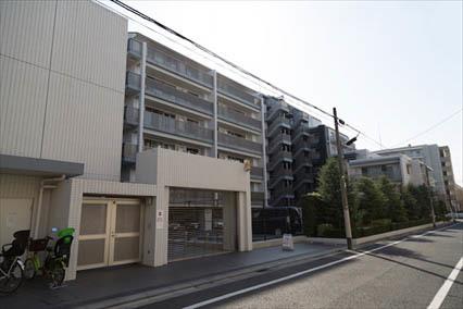 シティハウス世田谷桜丘の外観