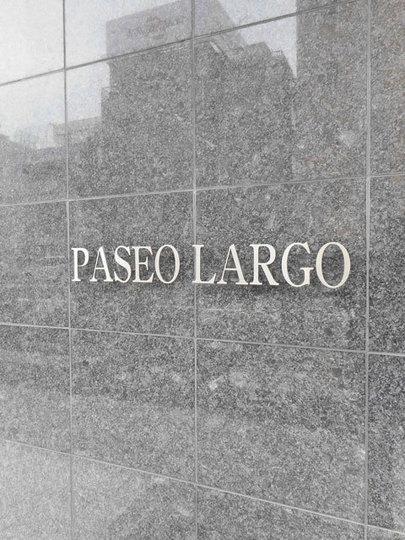 パセオラルゴの看板