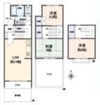 金沢シーサイドタウン並木1丁目第一住宅10-16号【メゾネットタイプ】の間取り