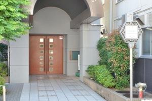 アーバンビュー平井ツインズのエントランス