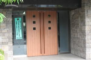 コスモ平井南リバータウンのエントランス