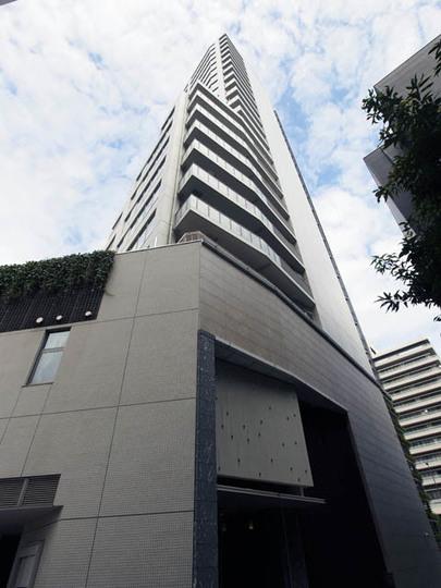 ブランズタワー文京小日向の外観
