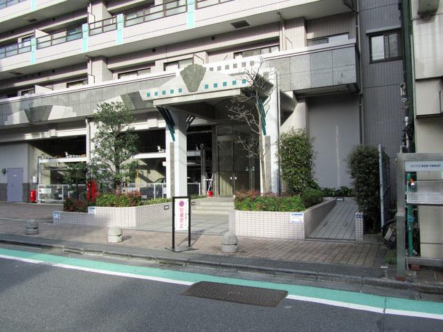 ライオンズマンション渋谷道玄坂のエントランス