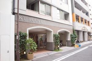 KTハウスのエントランス