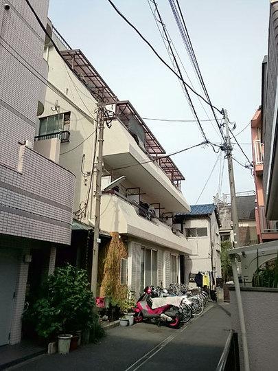 蒲田マンションの外観