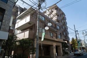 クリオ尾山台壱番館の外観