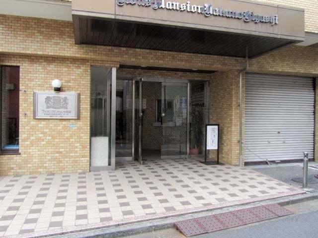 ライオンズマンション中野東のエントランス