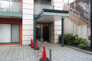 ミディアス渋谷ウエストのエントランス