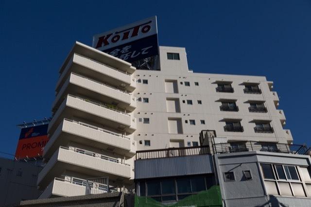 グランドメゾン駒沢パークの外観