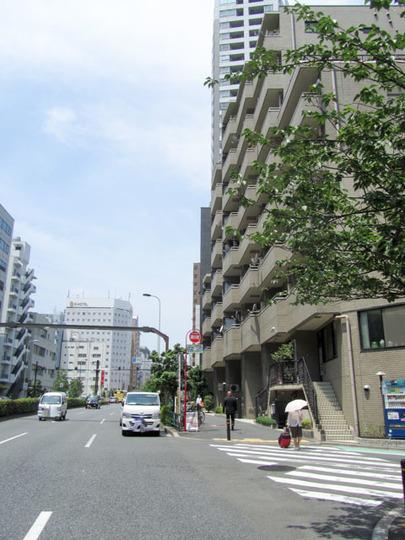 ビクセル新宿の外観