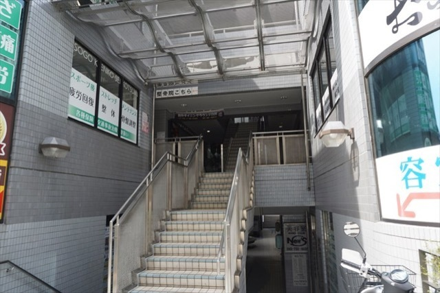 ライオンズステーションプラザ磯子のエントランス
